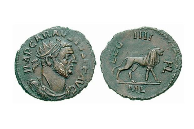 Photo of Roman coins