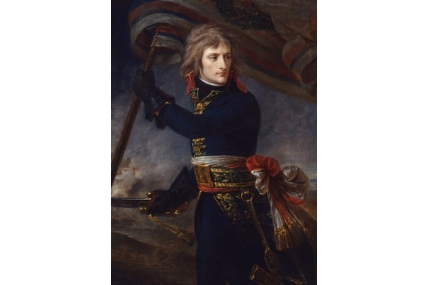 General Bonaparte at Arcole, 17 November 1796', (c1797). From the Musee National, Chateau de Versailles. (Photo by Ann Ronan Pictures/Print Collector/Getty Images)