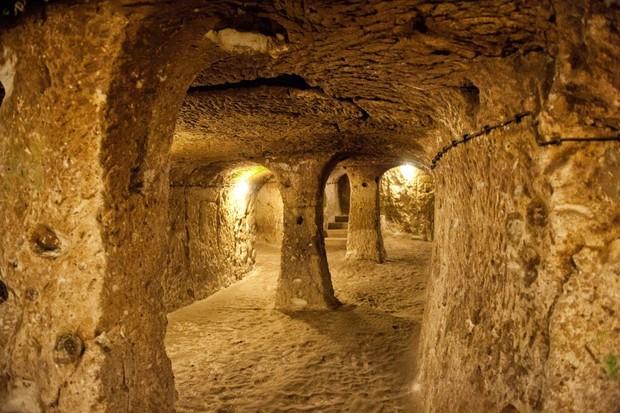 Photo of Derinkuyu Underground City