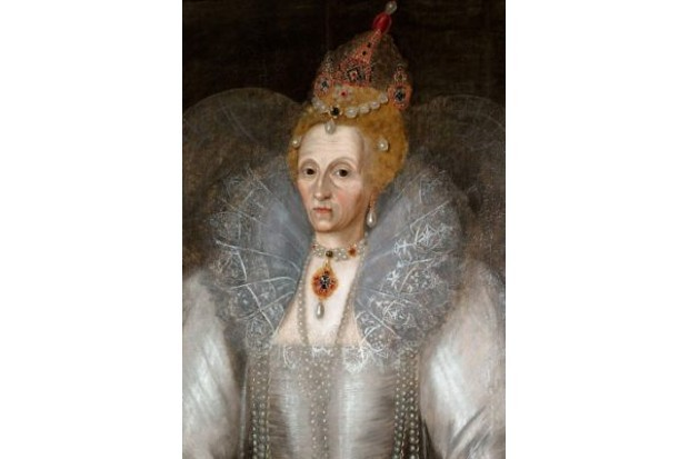 Realistic portrait of Queen Elizabeth I. (GL Archive/Alamy)