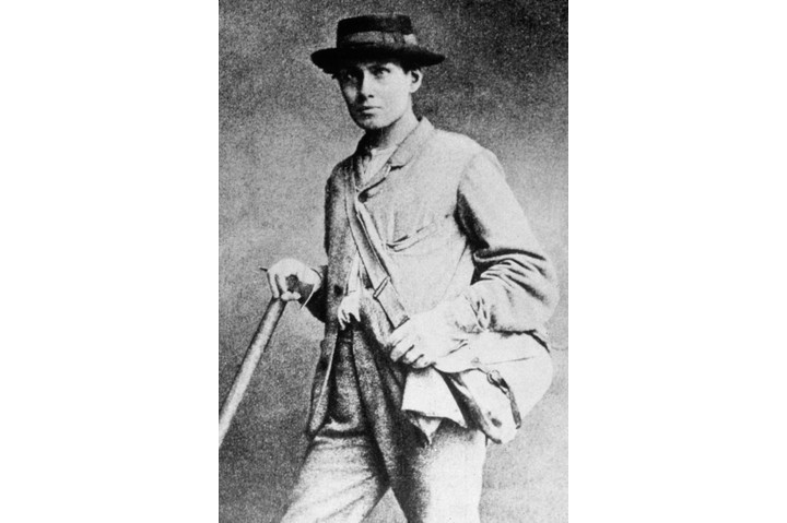 Edward Whymper in climbing gear