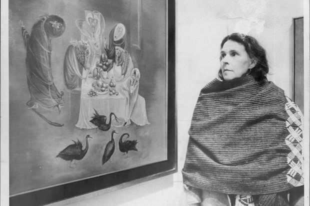 Artist Leonora Carrington