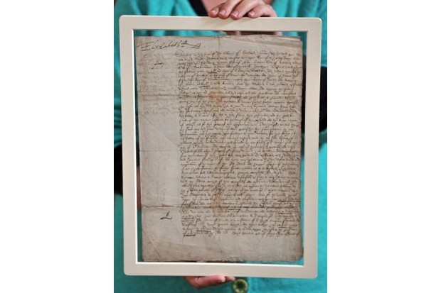 The warrant of Mary, Queen of Scots's execution. (WENN Ltd / Alamy)
