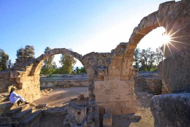 Saranda Kolones, Kato Pathos Archaeological Park