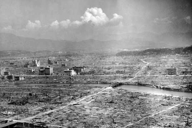 Ruins of Hiroshima shortly after the dropping of the atomic bomb. (US Air Force/The LIFE Picture Collection/Getty Images)