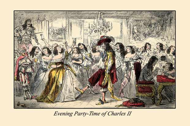 Charles II and his parties