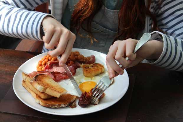 A 'full English' breakfast