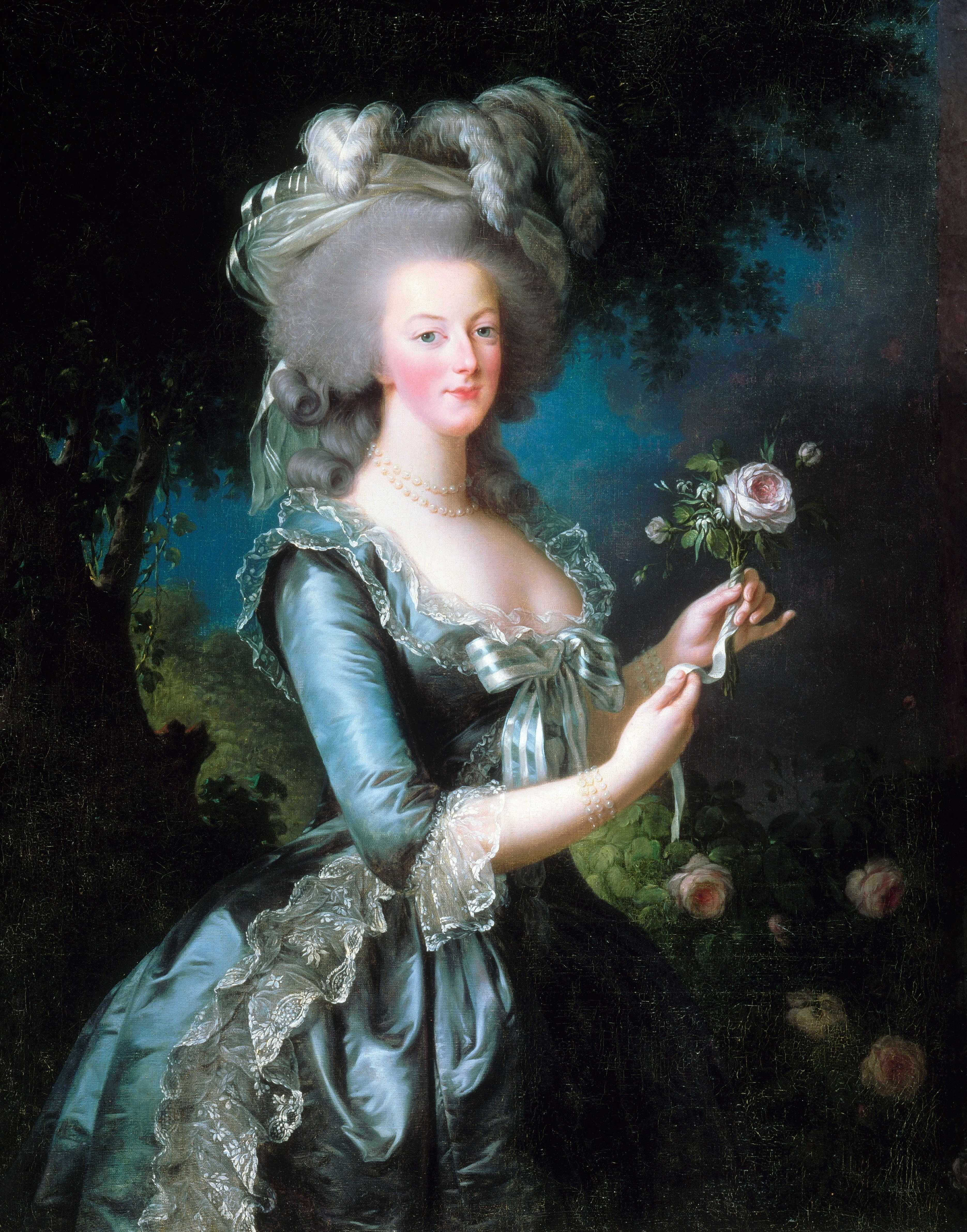 A portrait of Marie Antoinette dated 1783 and painted by Vigée-Le Brun. (Photo by Universal History Archive/UIG via Getty Images)
