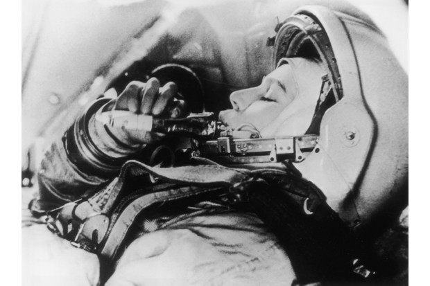 Russian astronaut Valentina Tereshkova, who was the first woman in space. (Photo by Keystone/Getty Images)