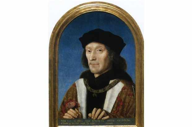 Henry VII, painting by unknown artist, 1505.(Photo by Apic/Getty Images)