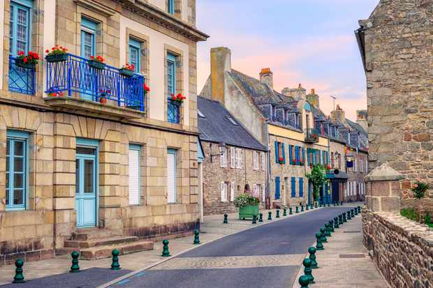 Roscoff, Brittany, France