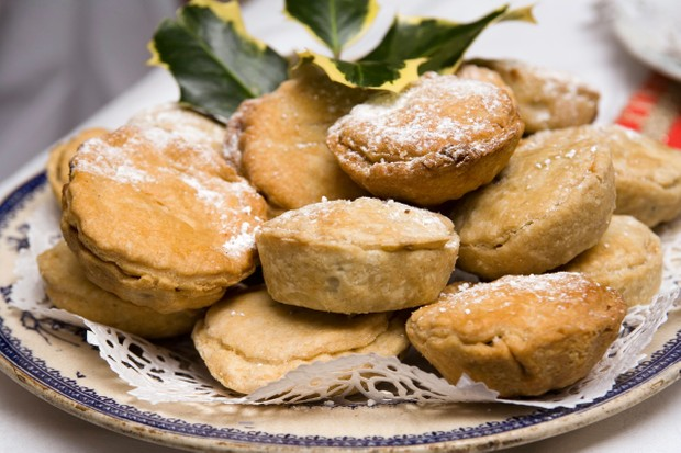 Mince pies were made with minced beef or mutton in the 15th century. (Photo by Neil McAllister/Alamy Stock Photo)