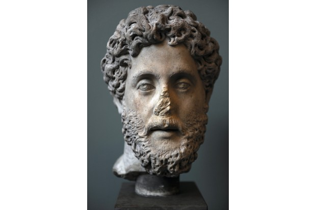 Bust of the emperor Commodus. (Anderson/Alinari via Getty Images)