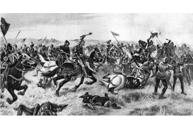 The battle of Agincourt, 25 October 1415, (1910). (Photo by The Print Collector/Print Collector/Getty Images)