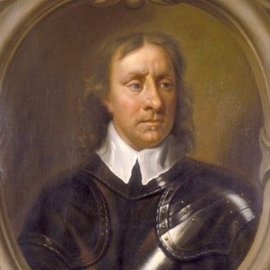 'Portrait of Oliver Cromwell', (c1653?). Head and shoulders portrait of Oliver Cromwell in armour, within an oval frame. This is one of several replicas of a portrait by Sir Peter Lely. Cromwell is supposed to have said: 'Mr Lely, I desire you would use all your skill to paint my picture truly like me, and not flatter me at all; but remark all the roughness, pimples, warts and everything, otherwise I will never pay a farthing for it.' This is a somewhat softened version of the original brief, and thus may not be a 'warts and all' portrayal. (Photo by Museum of London/Heritage Images/Getty Images)