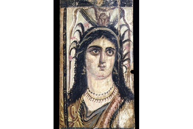 Depiction of Isis with crown supported by uraeus. (Photo by Werner Forman/Universal Images Group/Getty Images)