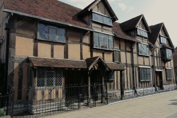 Shakespeare was born here in 1564. (© Zoe Bramley)