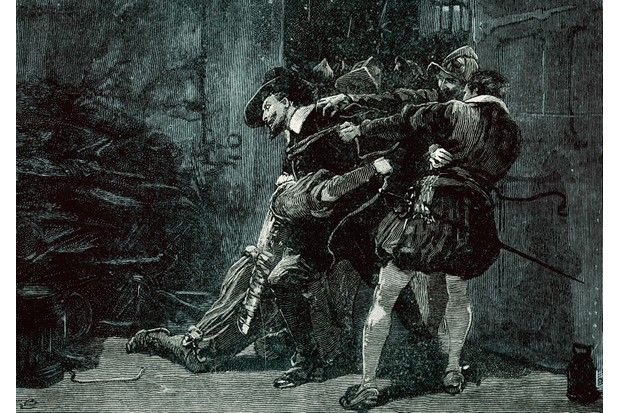 The arrest of Guy Fawkes. (Photo by Culture Club/Getty Images)