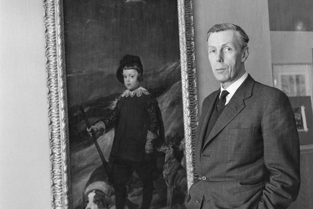 Sir Anthony Blunt, British art historian and Surveyor of the Queen's Pictures