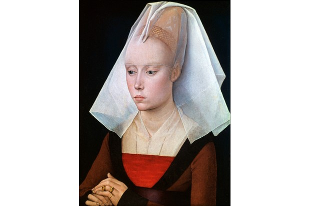 'Portrait of a Lady', 1460. Artist: Rogier Van der Weyden