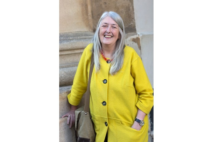 Professor Mary Beard, classicist and writer. (Photo by David Levenson/Getty Images)