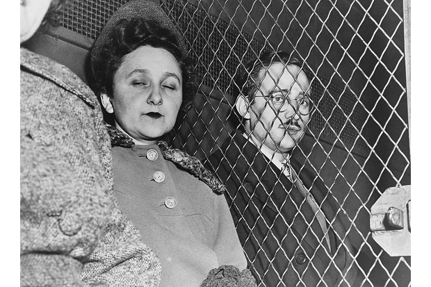 Ethel and Julius Rosenberg. Despite pleas for clemency, the pair were executed for espionage. (Photo by © Hulton-Deutsch Collection/CORBIS/Corbis via Getty Images)