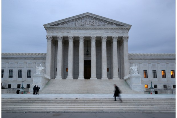 The US Supreme Court in Washington, DC. (Photo by Mark Wilson/Getty Images)