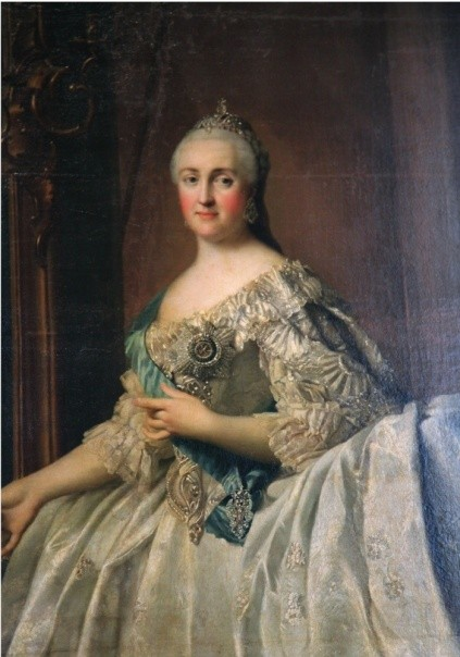 Portrait of the Empress Catherine the Great of Russia, after 1762. (Photo by The Art Collector/Print Collector/Getty Images)