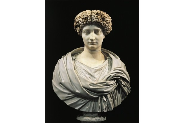 Marble bust of Julia, daughter of Emperor Augustus. (Photo by DEA PICTURE LIBRARY/De Agostini/Getty Images)