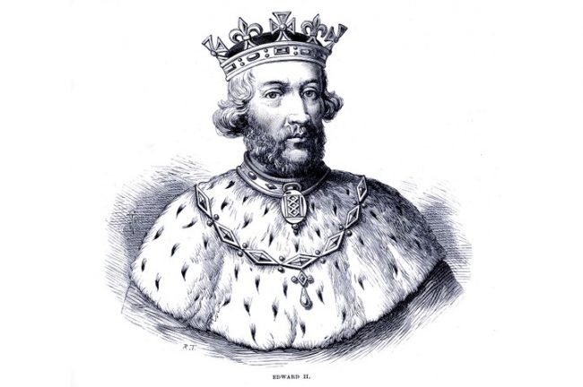 An illustration of Edward II. (Photo by Culture Club/Getty Images)