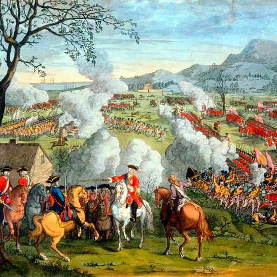 Battle of Culloden. (Photo by Ann Ronan Pictures/Print Collector/Getty Images)
