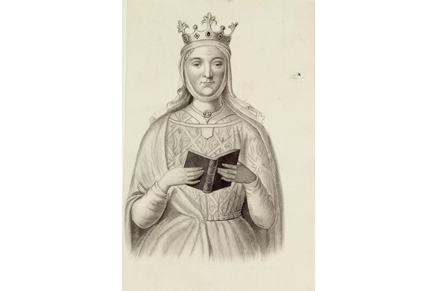 Eleanor of Aquitaine supported a revolt by one of their sons against her husband, Henry II. (Photo by Time Life Pictures/Mansell/The LIFE Picture Collection/Getty Images)