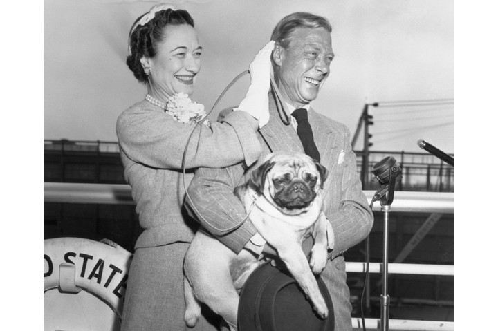 Edward VIII and Wallis Simpson. When Edward became king in January 1936, he was the darling of the nation. Yet when he abdicated in December 1936, few believed he was making the wrong decision. (Photo by Getty Images)