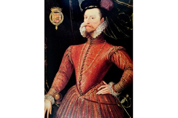 Portrait of Robert Dudley, 1st Earl of Leicester (1532–88) an English nobleman. Dated 16th century. (Photo by: Universal History Archive/UIG via Getty Images)