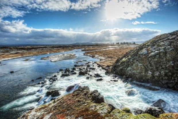 A view of Þingvellir National Park in western Iceland. It was here, in AD 930, that Viking settlers established the first pan-Icelandic assembly – possibly the oldest parliamentary body in the world. (© Dreamstime)
