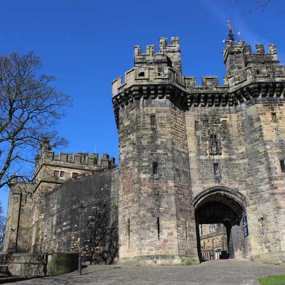 The gatehouse of Lancaster Castle