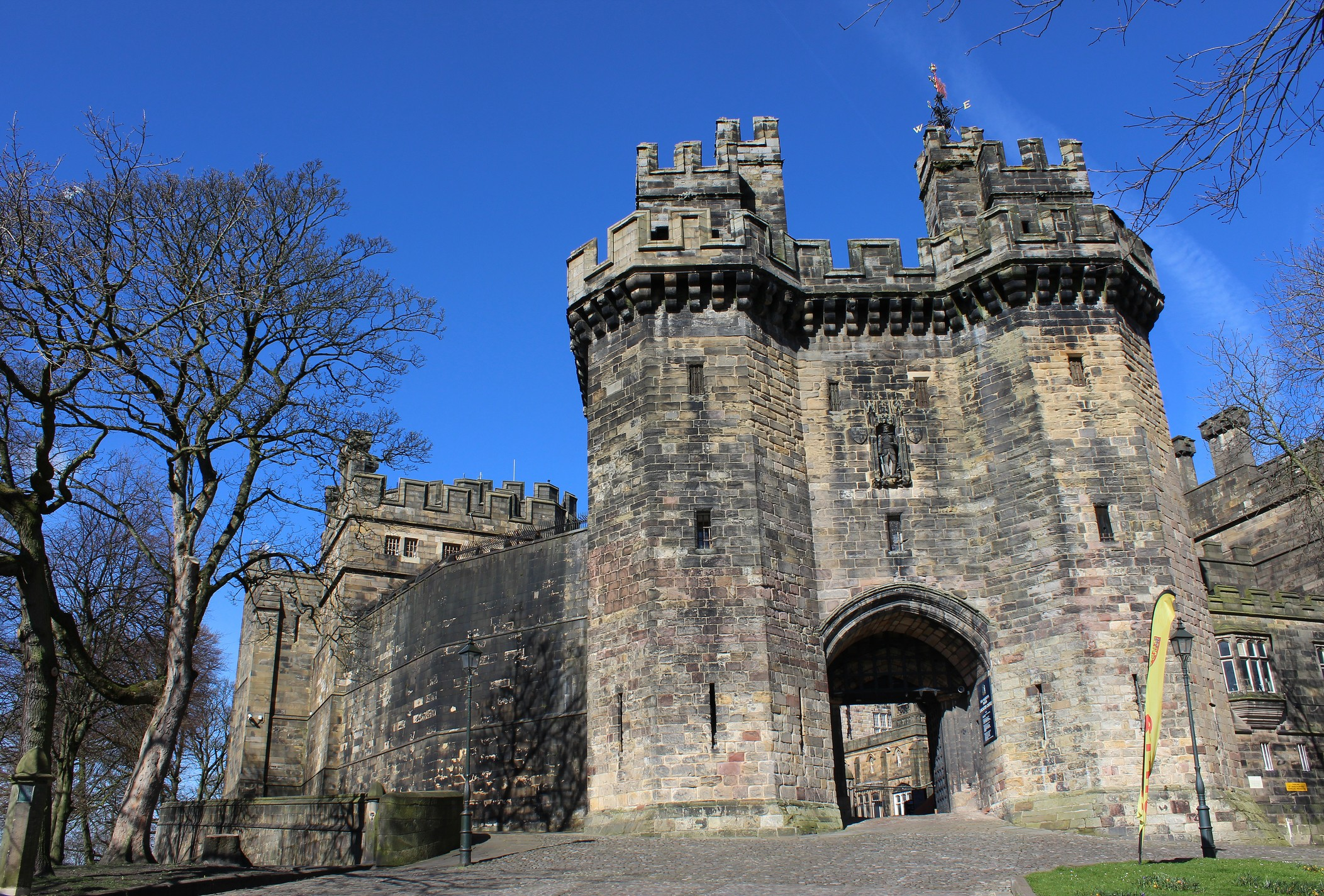 The gatehouse of Lancaster Castle