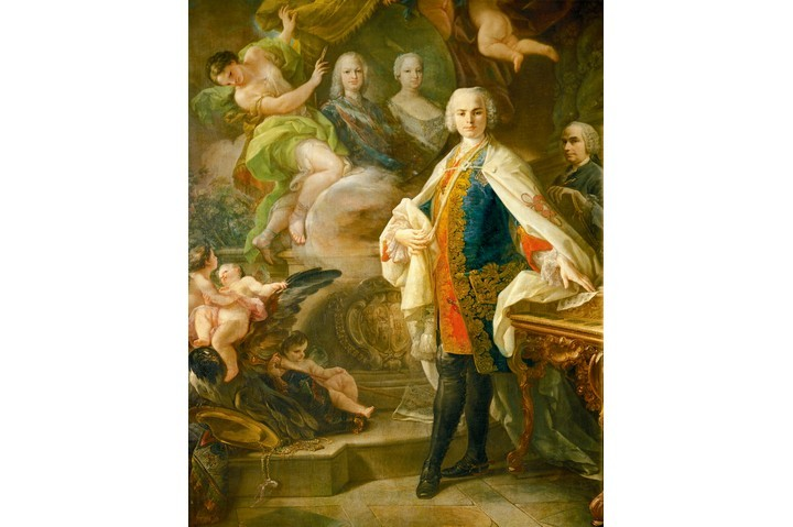 Portrait of Carlo Broschi (stage name Farinelli), the most famous opera singer of the 18th century. (Photo By DEA/A. DAGLI ORTI/De Agostini/Getty Images)