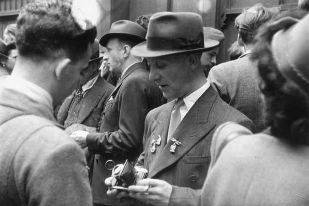 A Black Market camera seller
