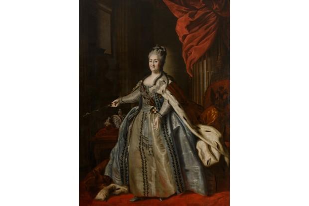 Portrait Of Empress Catherine II (1729-1796)