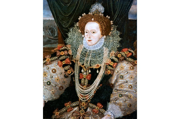 Elizabeth I's Armada portrait. (Photo by Ann Ronan Pictures/Print Collector/Getty Images