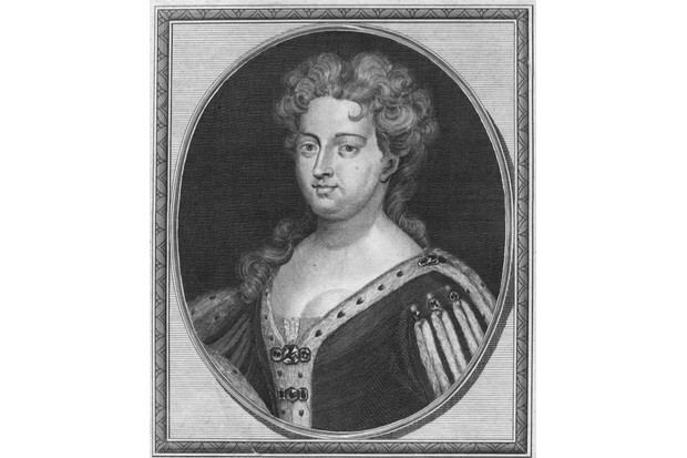A portrait of Caroline of Ansbach from around 1720. (Hulton Archive/Getty Images)