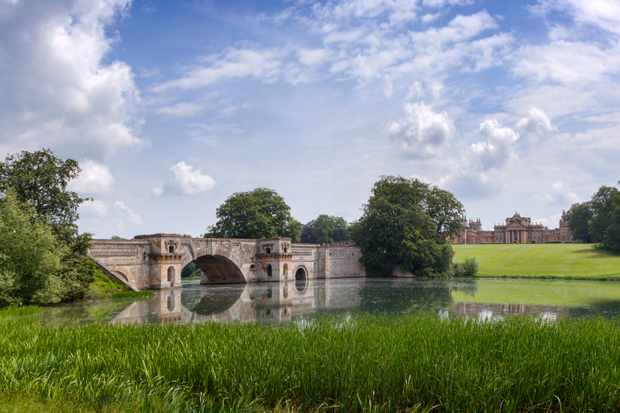 The Grand Bridge at Blenheim. (Getty Images)