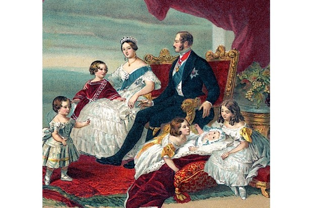 Queen Victoria shown with her family in 1846. (Culture Club/Getty Images)