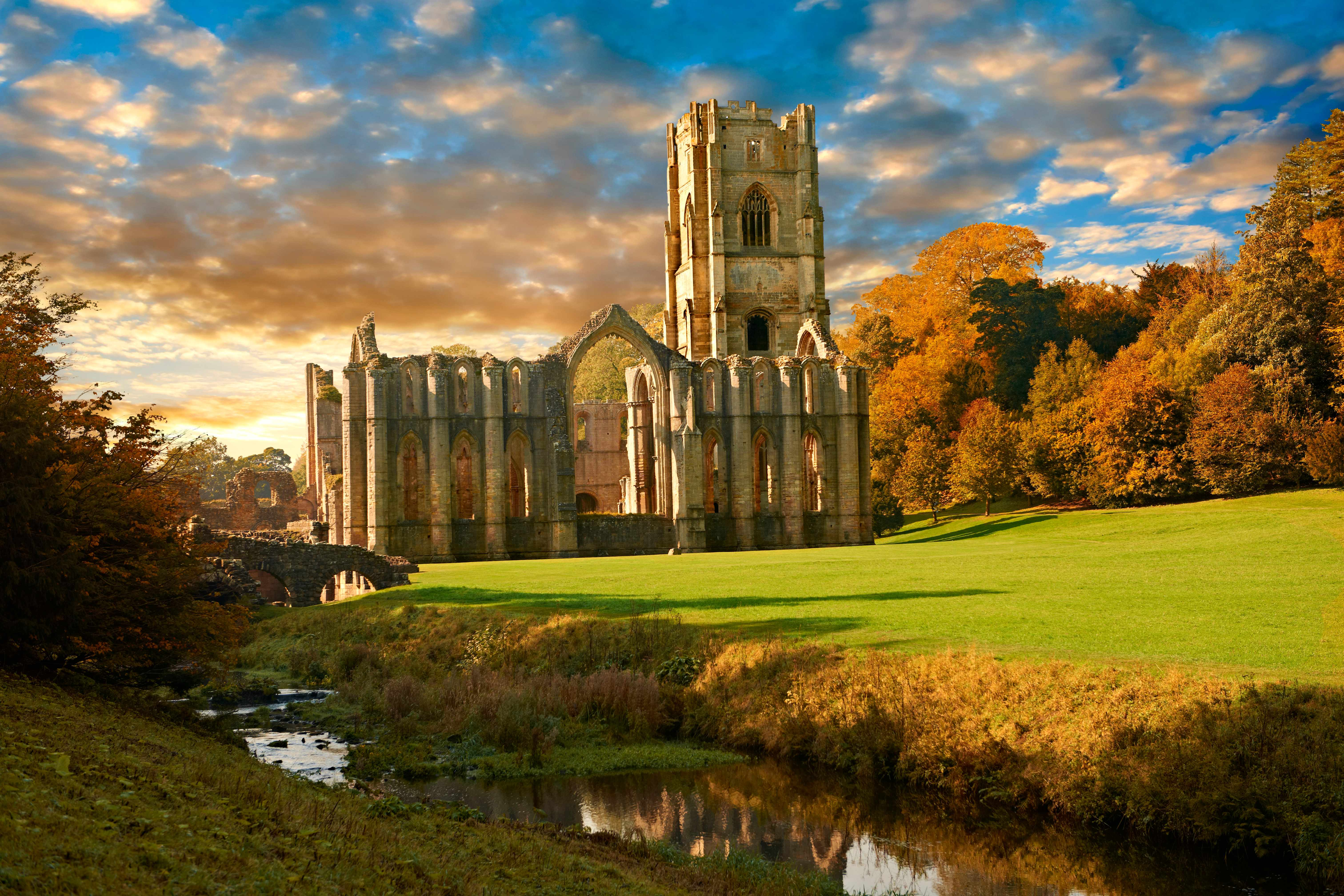 """The ruins of Fountains Abbey in North Yorkshire. Henry's motives when dismantling such monasteries """"were much more complex than pure revenge or pure avarice alone"""", says Adam Morton. (Photo by Getty Images)"""