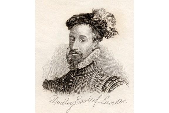 Portrait of Robert Dudley, Earl of Leicester. (Photo by Ken Welsh/Design Pics/Corbis via Getty Images)