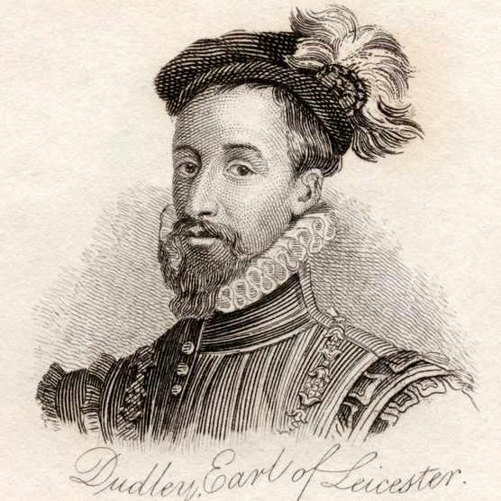 Portrait of Robert Dudley, Earl of Leicester. (Ken Welsh/*/Design Pics/Corbis via Getty Images)