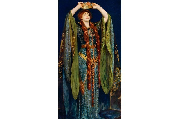 Ellen Terry as Lady Macbeth, in a 1906 painting by John Singer Sargent. (Print Collector/Getty Images)