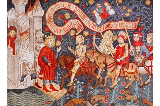 Arrival Of Joan Of Arc At The Chateau De Chinon