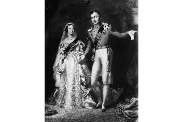 Queen Victoria's wore a white wedding dress when she married Prince Albert